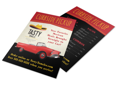 Curbside Pickup Restaurant Flyer Template 4gfdob1zab preview