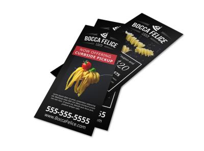 Curbside Pickup Restaurant Flyer Template e18v362pyx preview