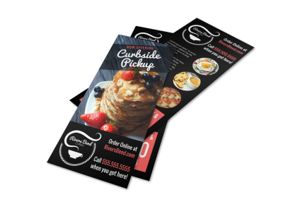 Curbside Pickup Restaurant Flyer Template 3fxec4ul1o preview