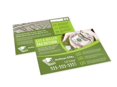 Tax EDDM Postcard Template hzvc74hlzl preview