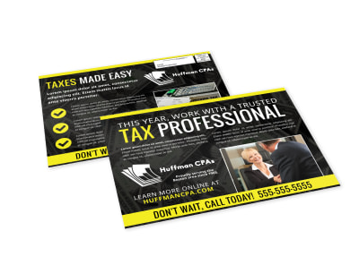 Tax EDDM Postcard Template 8z32czzv4c preview