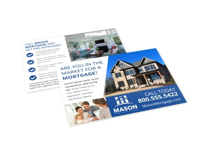 Mortgage EDDM Postcard Template 17joiyhzi3 preview