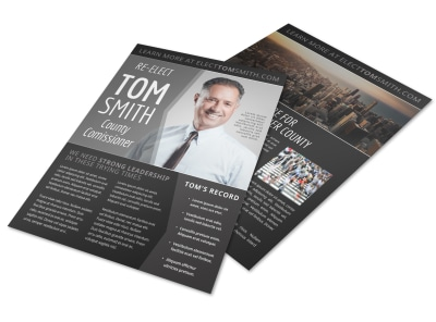 Campaign Flyer Template 8cjdhbqouo preview