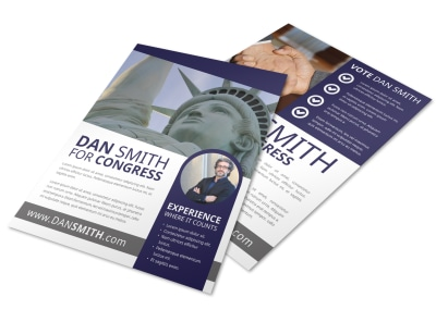 Campaign Flyer Template sanbxsz2dr preview