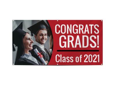 Graduation School Banner Template fb6aiyd9ub preview