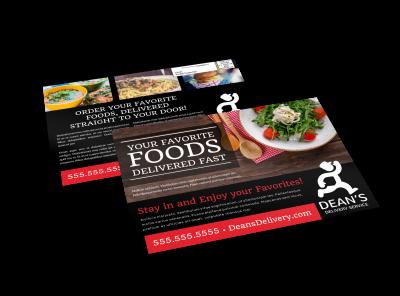 EDDM Postcards   Customize & Print Template Preview