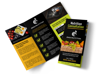 Consultation Nutrition Tri-Fold Brochure Template pzk8shtvo1 preview