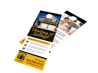 Thinking Of Selling Door Hanger Template pt64kqqlzh preview
