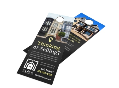 Thinking Of Selling Door Hanger Template ihqy7u4wq1 preview