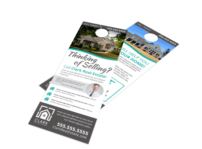 Thinking Of Selling Door Hanger Template nnt68axfih preview