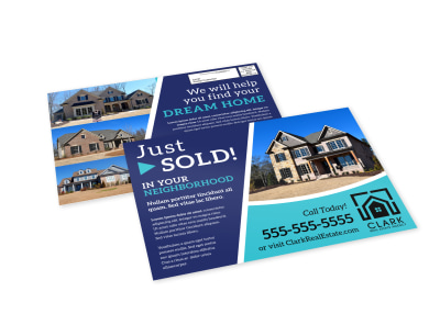 Just Sold Real Estate EDDM Postcard Template 7mv3oj88gp preview