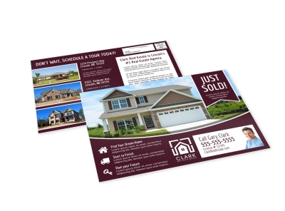 Just Sold Real Estate EDDM Postcard Template yrn2b22xqd preview