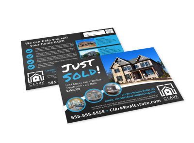 Just Sold Real Estate EDDM Postcard Template 5rllpigd5p preview