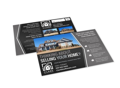Thinking Of Selling Real Estate EDDM Postcard Template h9skta05wc preview