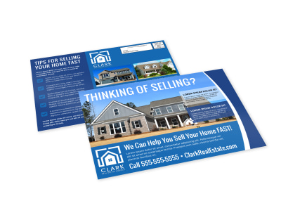 Thinking Of Selling Real Estate EDDM Postcard Template 82ri0s8134 preview