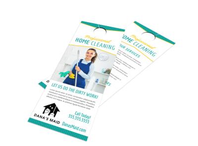 House Cleaning Door Hanger Template 7x6ivhvwxd preview