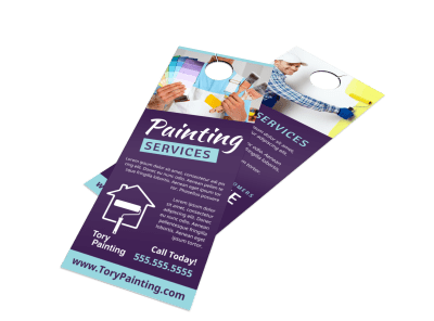Custom Door Hangers | 250+ Templates Template Preview