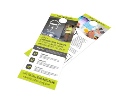 Painting Service Door Hanger Template cqcpnhz7v3 preview