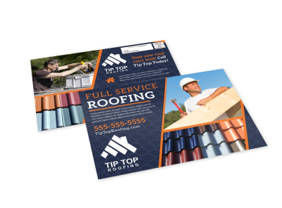 Roofing EDDM Postcard Template ittvf1mmiw preview