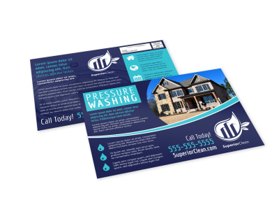 Pressure Washing EDDM Postcard Template fe2kaujunv preview