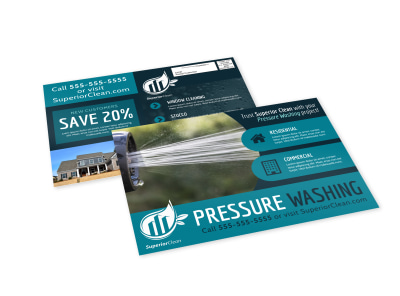 Pressure Washing EDDM Postcard Template 42715941g3 preview