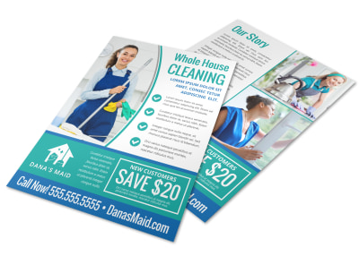 House Cleaning Flyer Template r862rpghiz preview