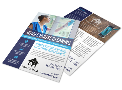 House Cleaning Flyer Template odjnssubcr preview
