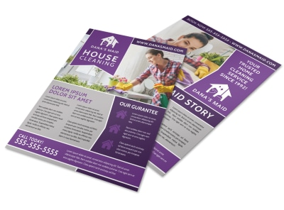 House Cleaning Flyer Template 48dnrcy2rg preview