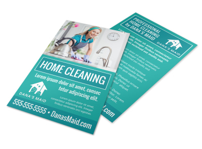 House Cleaning Flyer Template rcev9lt4ns preview
