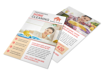 House Cleaning Flyer Template 1lke2xrexi preview