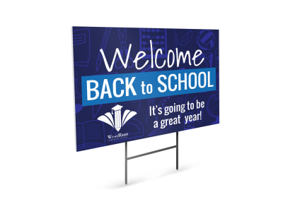 Back To School Yard Sign Template usxflg5aqv preview