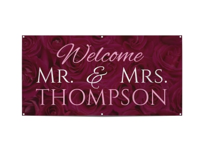 Wedding Banner Template nf38ro066f preview