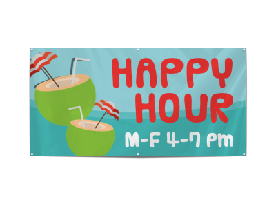 Happy Hour Banner Template ecqi9n0k4l preview