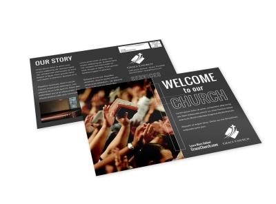 Church Welcome EDDM Postcard Template q8sumq2zih preview