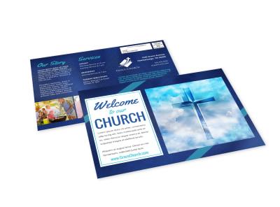 Church Welcome EDDM Postcard Template 64ck5drlra preview