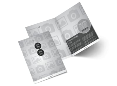 Generic Bi-Fold Brochure Template 2697