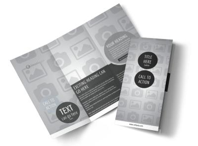 Generic Tri-Fold Brochure Template 2703