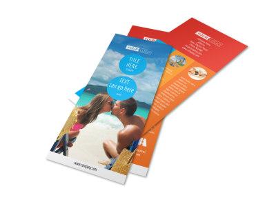 Ocean Beach Resort Flyer Template 2