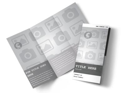Generic Tri-Fold Brochure Template 2714