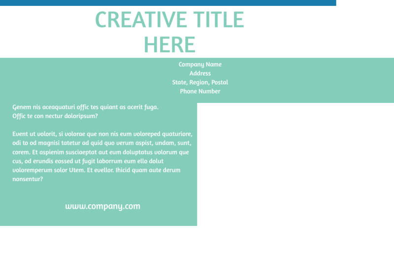 Tourism Activities Postcard Template Preview 3