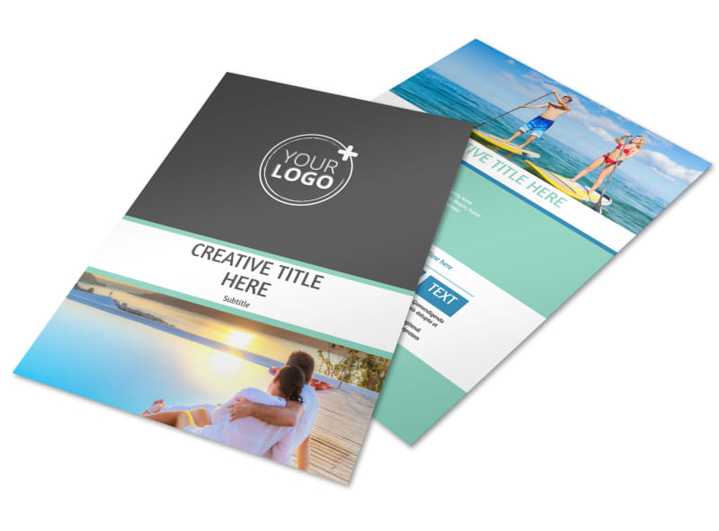Tourism Activities Brochure Template | Mycreativeshop