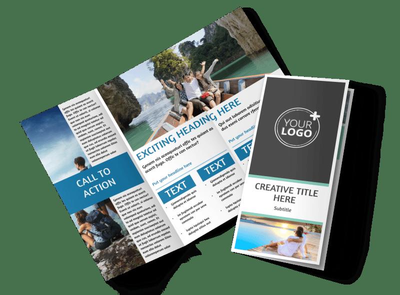 Tourism Activities Brochure Template Preview 1