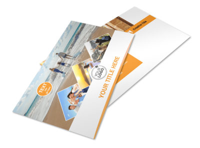 Sunny Travel Postcard Template 2 preview