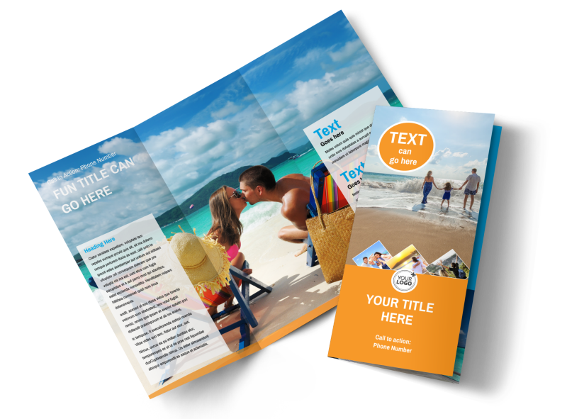 Sunny Travel Brochure Template Preview 1