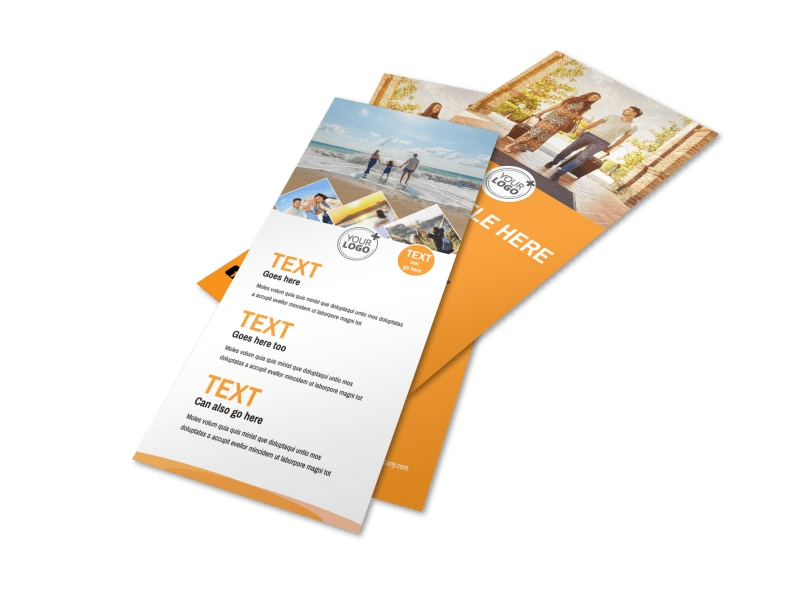 Sunny Travel Flyer Template 2