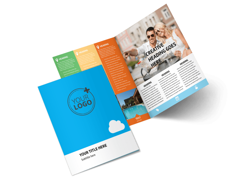 Air Travel Package Brochure Template Preview 1