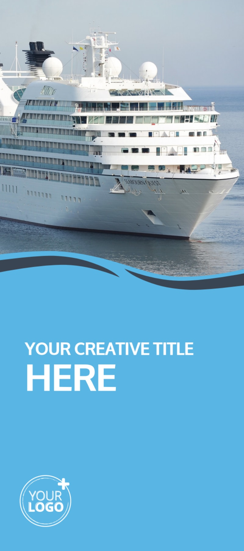 Cruise Ship Travel Flyer Template Preview 2