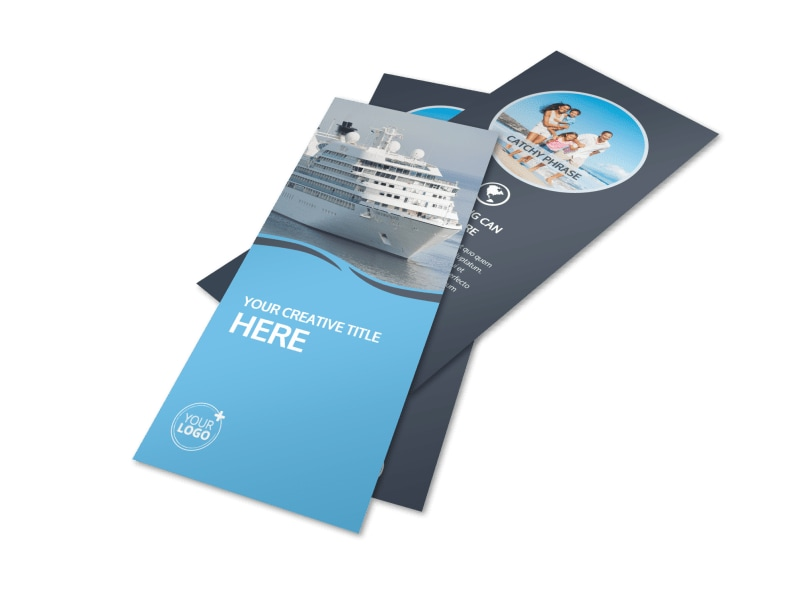 Cruise Ship Travel Flyer Template Preview 4