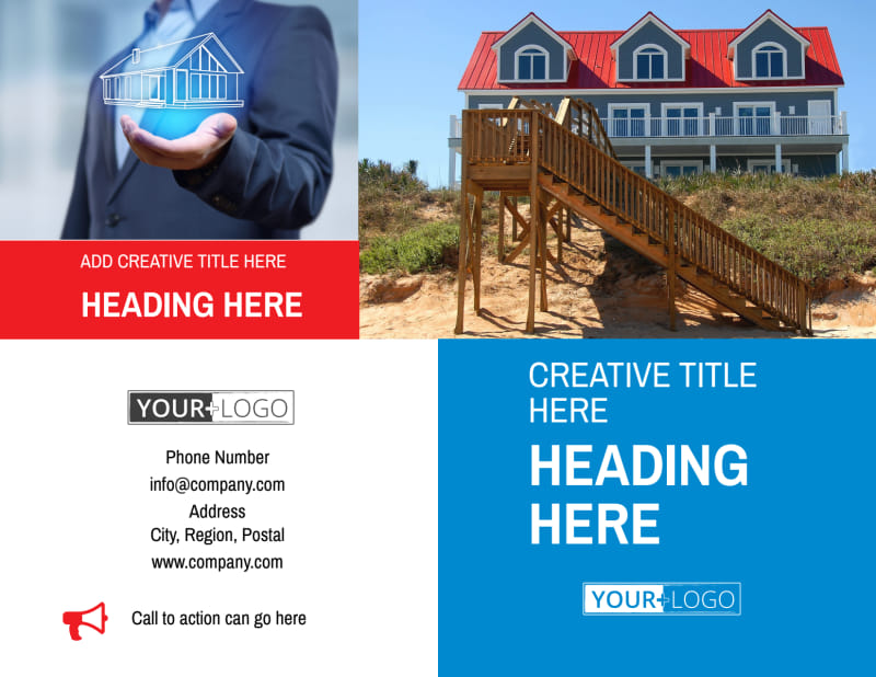 Villa Rental Brochure Template Preview 2
