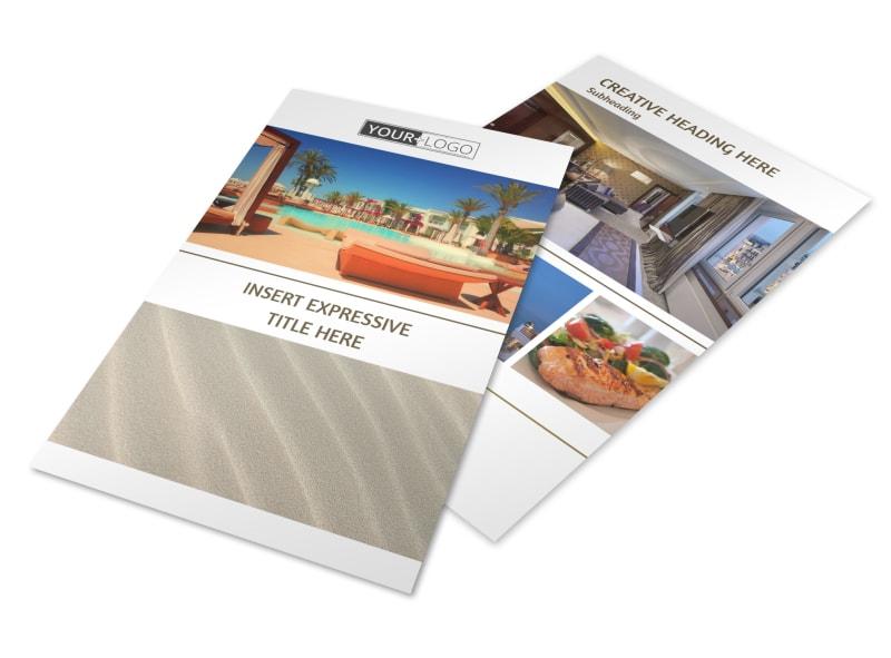 Luxury Hotels Flyer Template 3